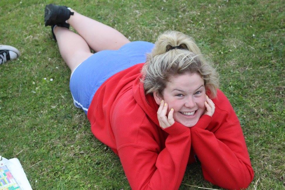 Megan in the backfield